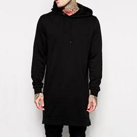 Cotton Men Sweatshirts Solid black Sold By PC