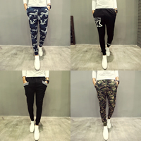Acrylic   Cotton Men Casual Pants different color and pattern for choice