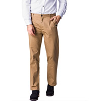 Cotton Middle Waist Men Casual Pants, different size for choice, Solid, more colors for choice, Sold By PC