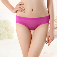 Gauze & Lace Hip-hugger Sexy Thong, hollow & transparent & breathable, floral, more colors for choice, Size:Free Size, 12PCs/Lot, Sold By Lot