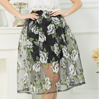 Organza Skirt printed different color and pattern for choice Sold By PC