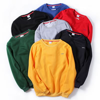 Cotton Men Sweatshirts, different size for choice & loose, embroidered, letter, more colors for choice, Sold By PC