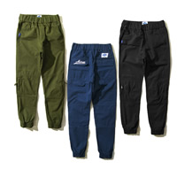 Cotton Men Pencil Pants, different size for choice, embroidered, letter, more colors for choice, Sold By PC