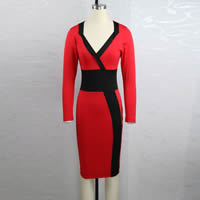 Spandex & Cotton Women Business Dress Suit, different size for choice, patchwork, more colors for choice, Sold By PC
