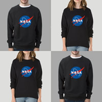 Cotton Plus Size Unisex Sweatshirts unisex printed letter