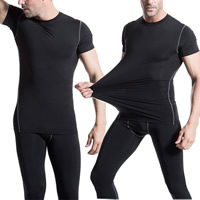 Spandex & Polyester Men Quick Dry Tops, different size for choice, more colors for choice, Sold By PC