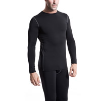 Spandex & Polyester Men Quick Dry Tops, different size for choice & more thicker and more wool, more colors for choice, Sold By PC