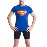 Spandex & Polyester Men Quick Dry Tops, different size for choice, printed, different color and pattern for choice, Sold By PC