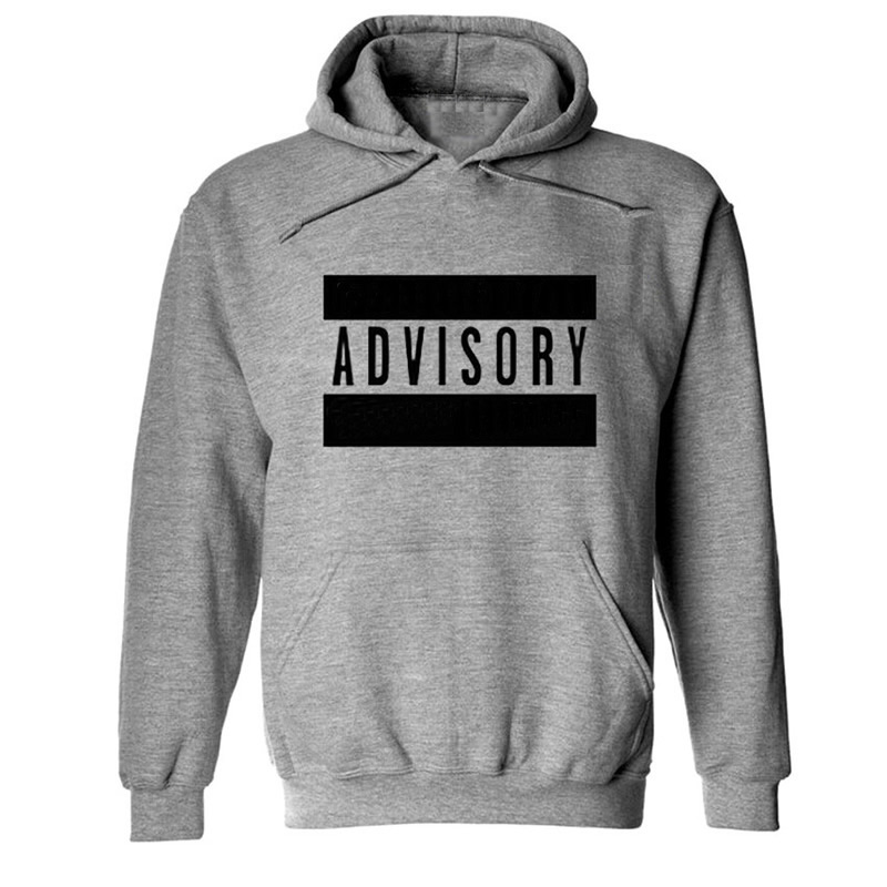 Cotton Men Sweatshirts printed letter