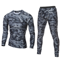 Cotton Men Quick Dry Clothing Set different styles for choice Pants   top printed camouflage