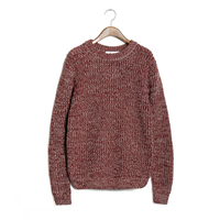 Polyester   Cotton Men Sweater Solid