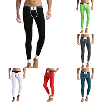 Cotton Men Thermal Long Johns breathable Solid Sold By PC