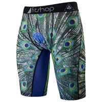 Milk Silk   Polyester Men Capri Pants printed different color and pattern for choice