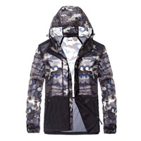 Polyester Plus Size Men Sun Protection Clothing anti ultraviolet camouflage