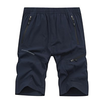 Nylon   Spandex Plus Size Men Quick Dry Pants embroidered letter