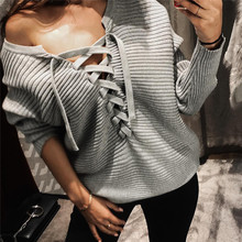 Cotton Lace Up Women Sweatshirts slimming loose with Modal printed plaid Sold By PC
