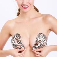 Silicone & Nylon Invisible Bra leopard Sold By PC