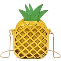 PU Leather Crossbody Bag geometric Sold By PC