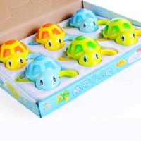 ABS Plastic Straight Clockwork Toys random color animal prints Sold By Box