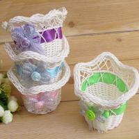 Polypropylene-PP Storage Basket random color Sold By PC