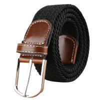 Canvas Fashion Belt flexible weave Sold By PC