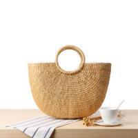 Stroh Handtasche, Solide,  Stück