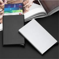 Kunststoff Kartentasche,  Aluminiumlegierung, Solide, mehr Farben zur Auswahl,  Stück