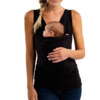Cotton Slim & Plus Size Kangaroo Vest & breathable Acrylic Solid PC