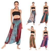 Algodón Pantalones Mujer Yoga, impreso, más colores para elegir,  trozo