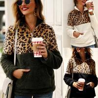 Felpa & Algodón Mujeres Sudaderas, leopardo, más colores para elegir,  trozo
