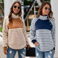 Polyester Vrouwen Sweatshirts Striped meer kleuren naar keuze stuk