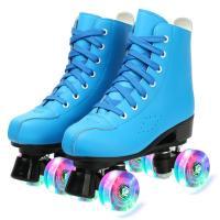 PU-leer Rolschaatsen Pvc effen geverfd Solide meer kleuren naar keuze :45 Paar