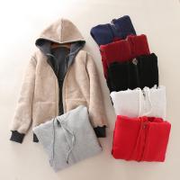 Berber-Fleece Frauen Mantel,  Baumwolle, Patchwork, Solide, mehr Farben zur Auswahl,  Stück