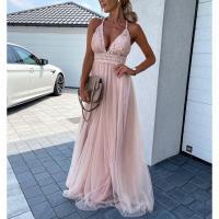 Polyester Einteiliges Kleid, Solide, mehr Farben zur Auswahl,  Stück